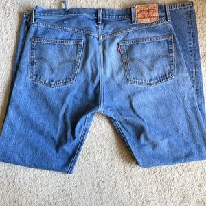 Vintage Levi's 501s 38X34 red tag jeans button fly